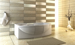 Bathroom fitting: professional tiling and electrical work are undertaken as well as expert bathroom plumbing